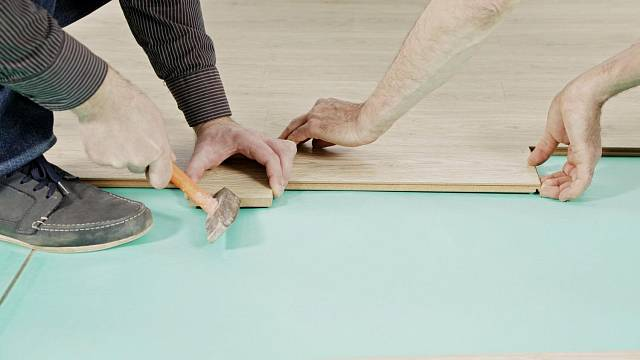 Pokládání podlah