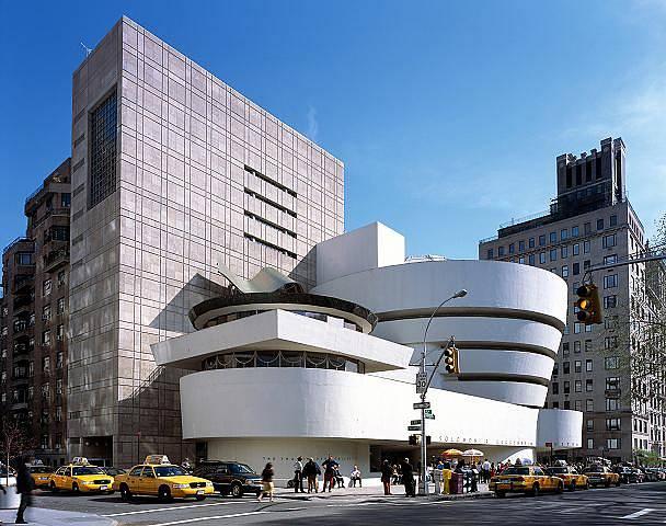 Guggenheimovo muzeum v New Yorku – inspirace přírodními tvary