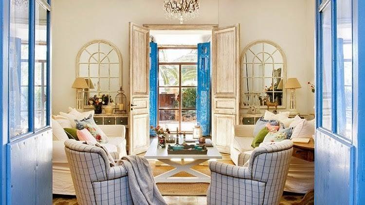 Inspirace barvami st edomo sk styl a kr sa provence - Busco decorador de interiores ...