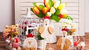 K Velikonoční výzdobě patří barvy, pestrost, veselost a hravost.