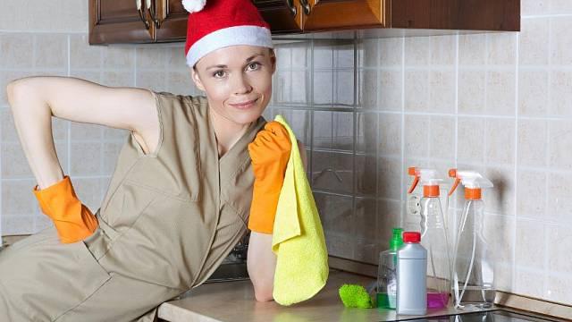 Vánoční úklid