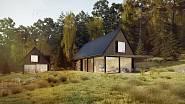 Takhle vypadal dům v soutěží Českého ostrovního domu.