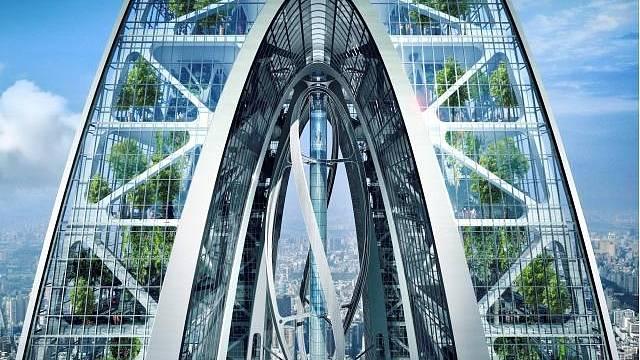 Mrakodrap Biotic Arch