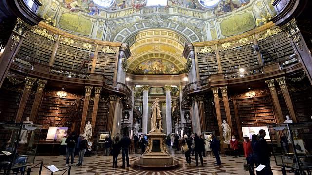 Národní knihovna ve Vídni