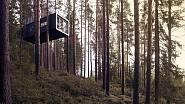 Švédský hotel Kabinka