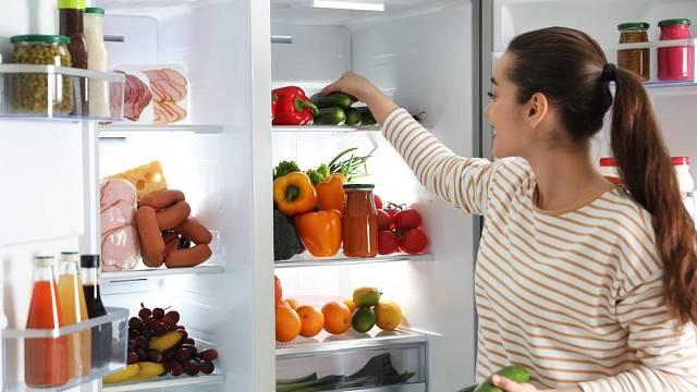 skladovani potravin v lednici