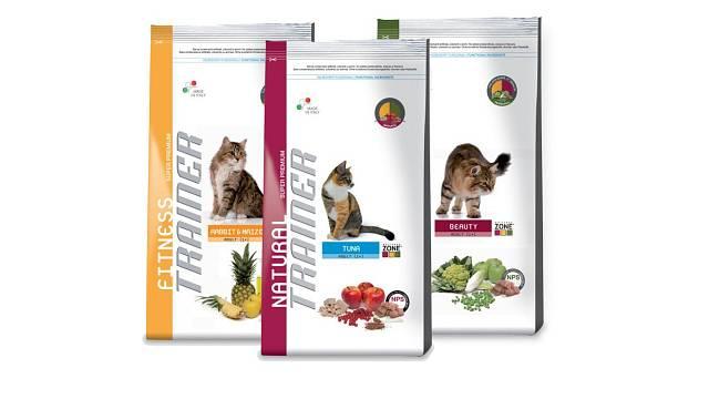 Kočičí krmivo