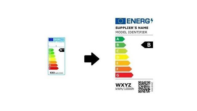 Porovnejte si starý (vlevo) a nový energetický štítek světelných zdrojů