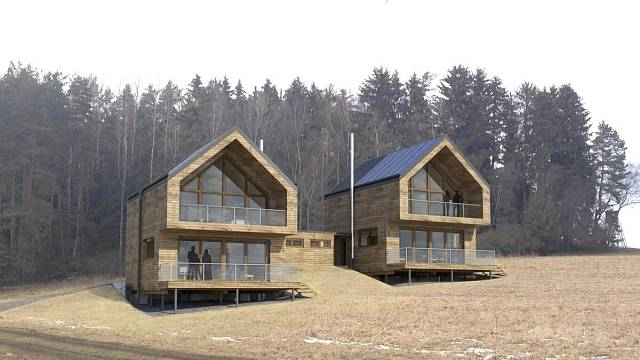 Ostrovní dům, který navrhl Filip Sládeček