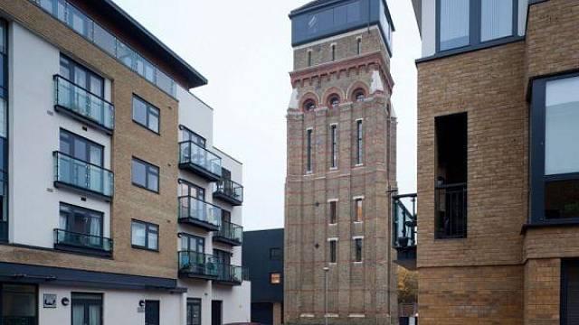 vodarenská věž v Londýně