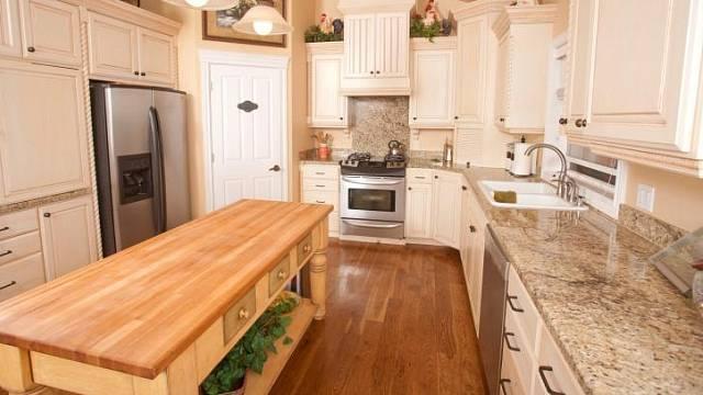 Chyby v kuchyni - rustikální kuchyně