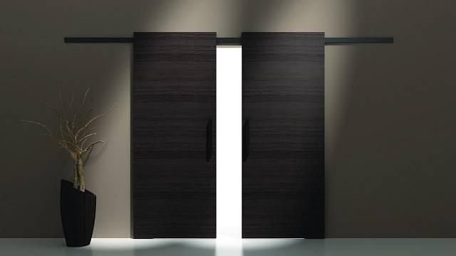 Posuvné dveře na stěnu 3