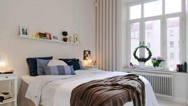 Skandinávská ložnice 5