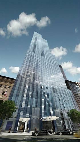 <p>One57 - stavba s nejdražšími byty na světě</p>
