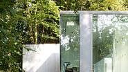 Prosklený dům v belgickém lese 7