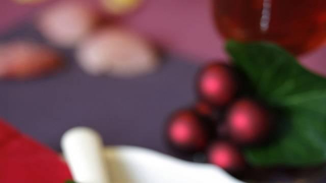 Vánoční výzdoba stolu 3