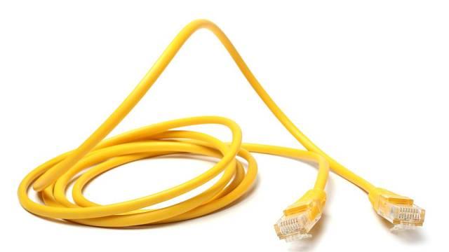 Nejrychlejší přenos dat zaručují klasické ethernetové kabely