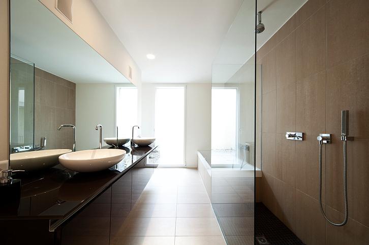 Verlaagd plafond badkamer pri