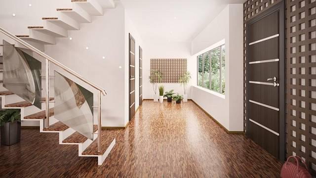 Podlaha v předsíni