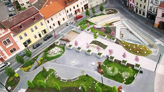 Podzemní komplex v severní části Staroměstského náměstí v Mladé Boleslavi