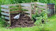Drť vytvořená drtičem větví se dá využít v kompostu.