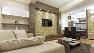 Imitace kamene v interiéru