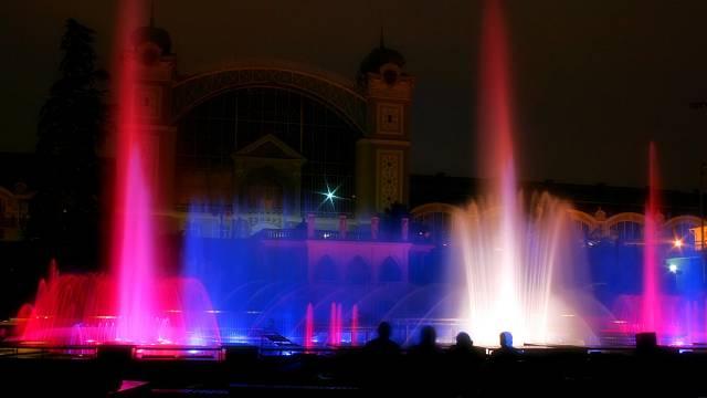 Křižíkova fontána v Praze
