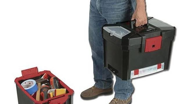Kufr na nářadí dvojitý MASTERCART Keter, 989 Kč