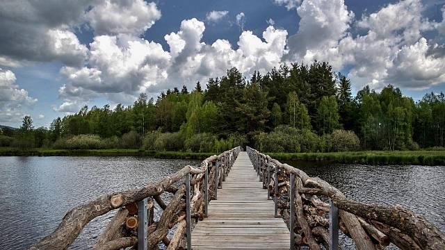 Naučná stezka Olšina – realizace, soutěžící Vojenské lesy a statky ČR, s.p.; Vítěz veřejného hlasování v kategorii Velké dřevěné konstrukce – realizace