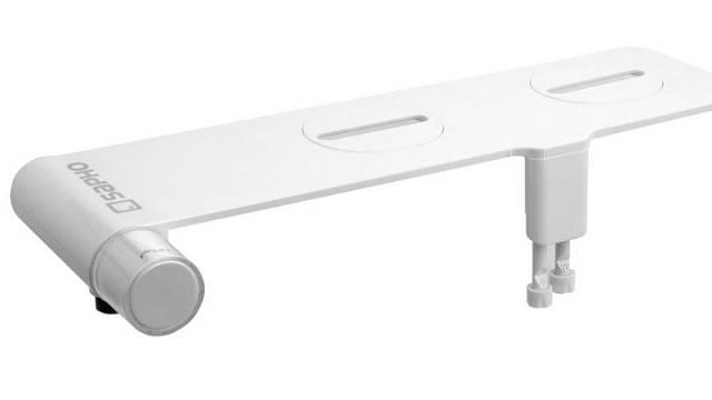 Přídavný bidet na studenou vodu, instalace na WC mísu (pod sedátko), cena 1990 Kč