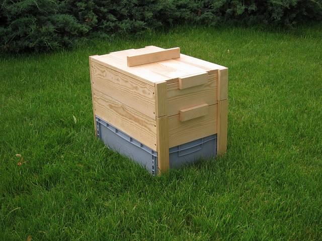 Jednodušší varianta kompostéru
