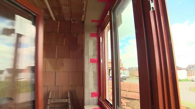 Správně osazené dřevěné okno