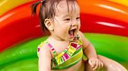 <p>Nafukovací bazének je pro malé dítě bezpečnější.</p>