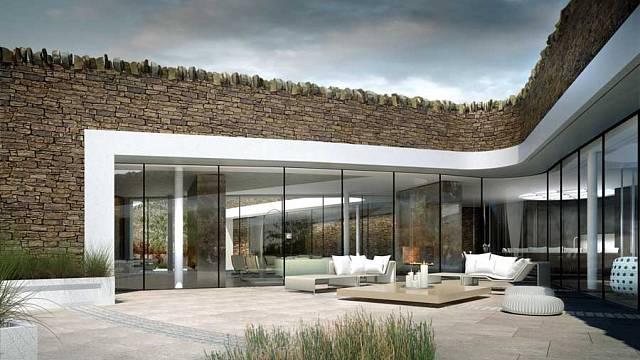 Ekologický podzemní dům - Bolton 3