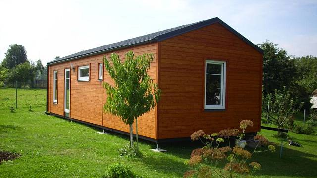 Mobilní dům za dva měsíce připravený k bydlení