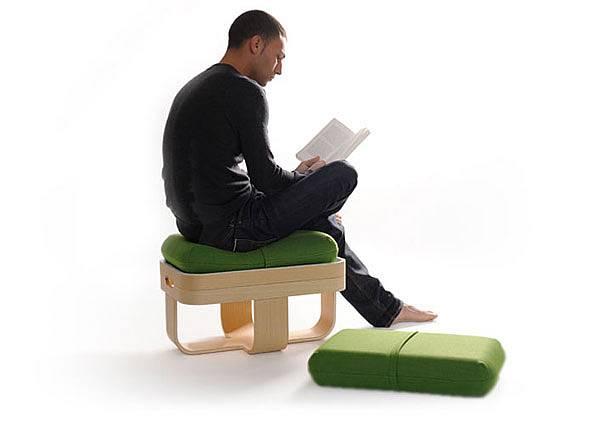 Židle-stolek-polštáře 3