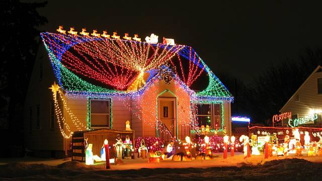 Vánoční zdobení domů 9