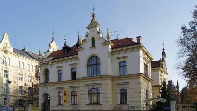 Olomouc čp. 632, vila E. Hamburgera