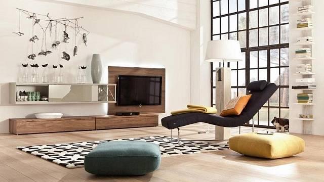 Nákupy - obývací pokoj bez nudy