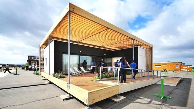 Solar Decathlon - český dům Air House