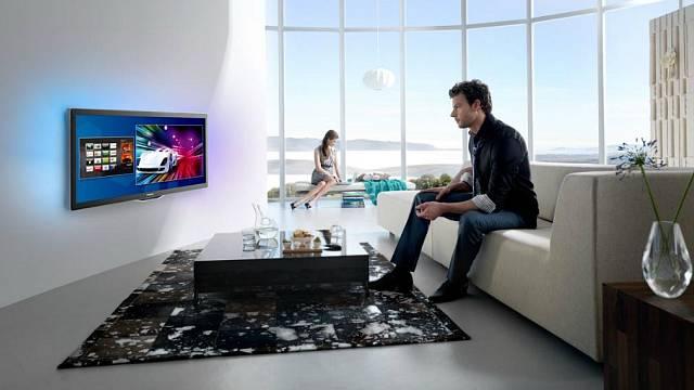Umístění televize