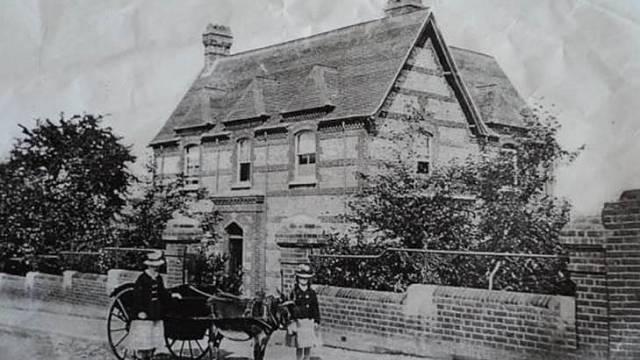 Dům v roce 1808