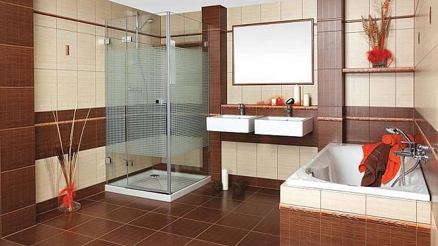 Ve velké koupelně můžete uspokojit jak ty, kteří milují vanu, tak ty, co upřednostňují sprchování.
