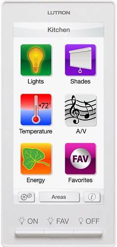 Keypad, který může ovládat úplně všechno - od světel, klimatizace až po televizi