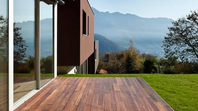 Terasa - dřevo