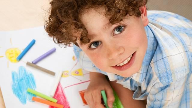 Malující dítě 5