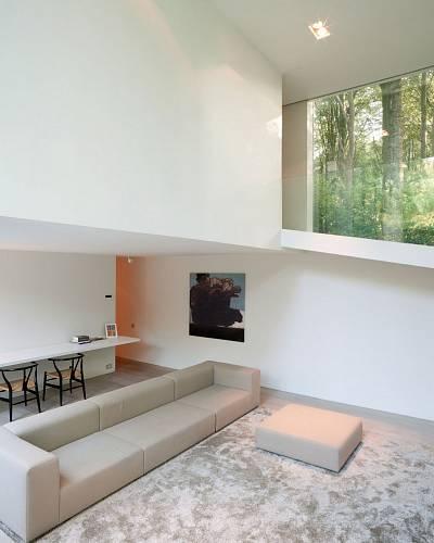 Prosklený dům v belgickém lese 2