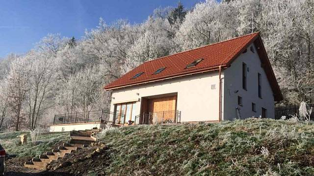 Pasivní rodinný dům - dřevostavba Děčín, ing Jiří Demuth, Foto: Jan Masojídek