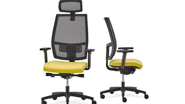 Otočná kancelářská židle ADAPT 2 / Zdroj: RIM CZ