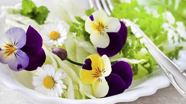 Jedlé květiny